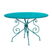 1900 Table 117cm - Turquoise