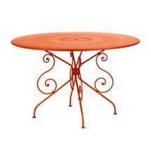 1900 Table 117cm - Paprika