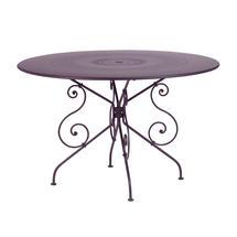 1900 Table 117cm - Plum
