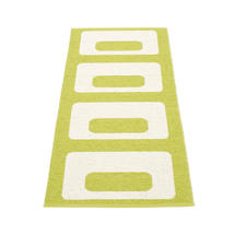 Owen 70 x 160cm Runner - Lime / Vanilla