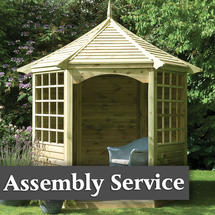 Arden Gazebo with Assembly Service