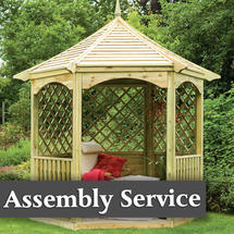 Burford Gazebo with Assembly Service