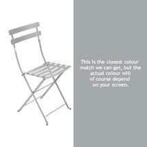 Bistro Chair - Steel Grey
