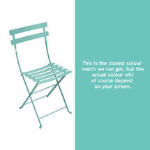 Bistro Chair - Lagoon Blue