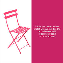 Bistro Chair - Fuchsia