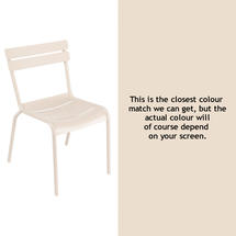 Luxembourg Stacking Chair - Linen