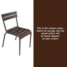 Luxembourg Stacking Chair - Russet