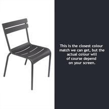 Luxembourg Stacking Chair - Anthracite