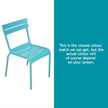 Luxembourg Stacking Chair - Turquoise