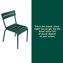 Luxembourg Stacking Chair - Cedar Green