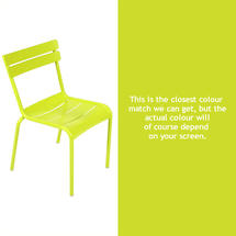 Luxembourg Stacking Chair - Verbena Green