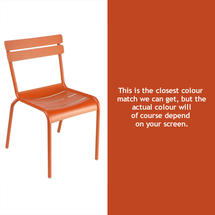 Luxembourg Stacking Chair - Paprika