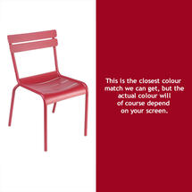 Luxembourg Stacking Chair - Chilli