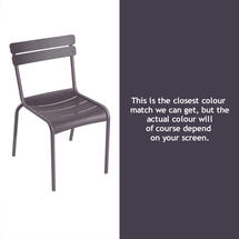 Luxembourg Stacking Chair - Plum