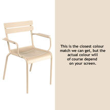 Luxembourg Stacking Armchair - Linen