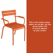 Luxembourg Stacking Armchair - Paprika