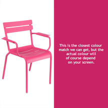 Luxembourg Stacking Armchair - Fuchsia