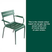 Luxembourg Stacking Armchair - Cedar Green