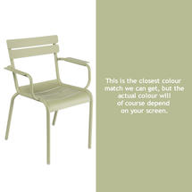 Luxembourg Stacking Armchair - Willow Green