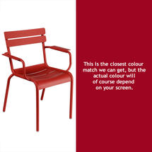 Luxembourg Stacking Armchair - Chilli