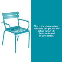 Luxembourg Stacking Armchair - Turquoise
