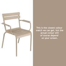 Luxembourg Stacking Armchair - Nutmeg