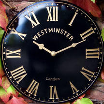 Large Outdoor Westminster Clock