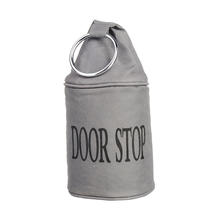 Canvas Doorstop - Grey