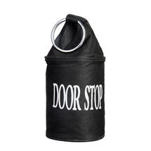 Canvas Doorstop - Black