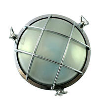 Medium Round Bulkhead - Chrome