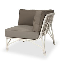 Lucy Modular Corner with Standard Taupe Cushions