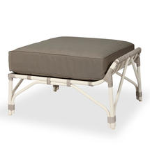Lucy Modular Footrest with Standard Taupe Cushion
