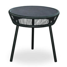 Loop Side Table - Black