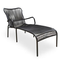 Loop Chaise Longue - Black