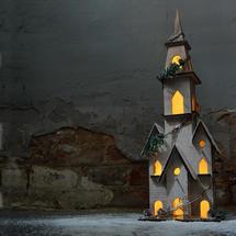 Christmas Wooden Church