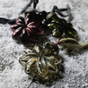 Recycled Glass Star Set of 4