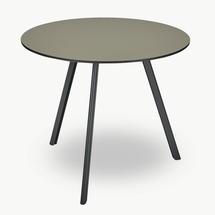 Overlap 85cm Round Table - Hunter Green