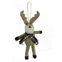 Felt Moose with Scarf