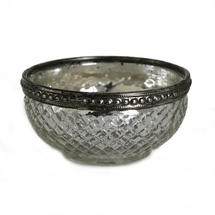 Bowl Shaped Antique Tealight Holder