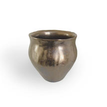 Gold Plant Pot -Small