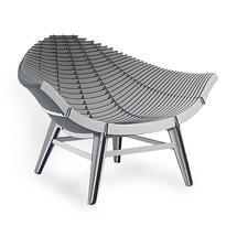 Manta Armchair - Grey