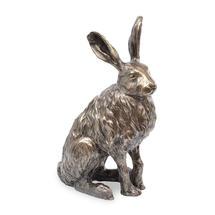 Antique Bronze Resin Hare
