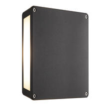 Tamar Panel Up/Down Wall Light - Anthracite