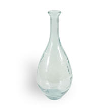 Recycled Glass Teardrop Vase - Large