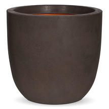 Texture Small Egg Planter - Brown