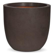 Texture Medium Egg Planter - Brown