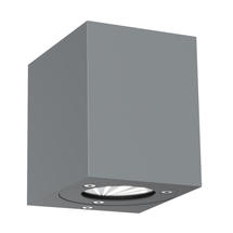 Canto Kubi Up/Down Wall Light - Grey