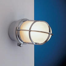 Grille Lamp - Chrome