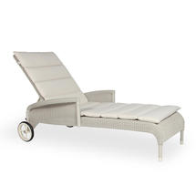 Safi Lounger with Sunbrella Cushion - Old Lace
