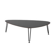 Rozy Coffee Table - Black HLP Top
